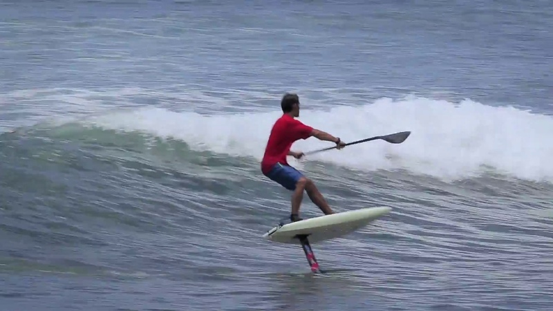 Austin Kalama's Alley-Oop on SUP Foil