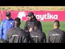 Penúltimo entrenamiento para preparar el último partido del año ante Leganés