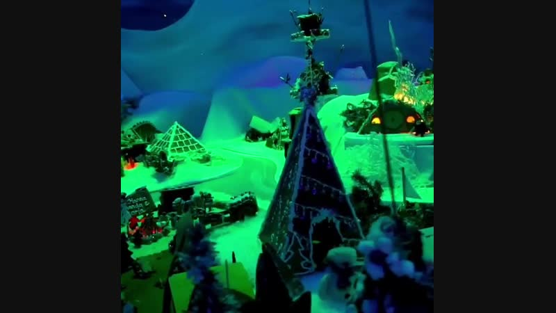 The Worldx27;s largest Gingerbread Town just opened in Bergen. And it is truly magical! - Video via @visitbergen - Bergen p