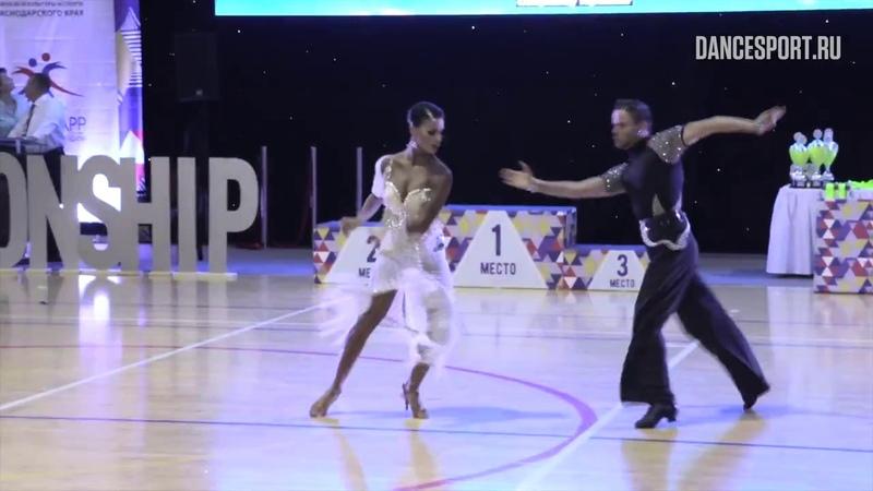 Giacomo Lazzarini - Roberta Benedetti BIH, Samba | WDSF World Open Latin