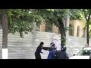 Драка священников с полицией на марше ЛГБД в Кишиневе