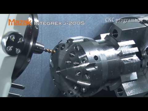 Cnc 6 Axis Mazak Technology - i200 S