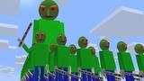 Monster School BALDI'S BASICS ZOMBIE APOCALYPSE 2 Challenge - Minecraft Animation