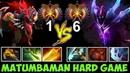 MATUMBAMAN Bloodseeker vs Spectre Hex Build | Top 1 vs Top 6 Crazy Battle