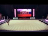 Александра Солдатова - булавы (многоборье) // World Challenge Cup 2018, Минск