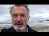 My random video diary - on ShakyWindyCam tm . Tolaga Bay New Zealand. (The Pacific: In The Wake of Captain Cook with Sam Neill)