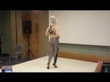 Sara Lopez, Kizomba Ladies Styling (Istanbul International Dance Festival 2016)