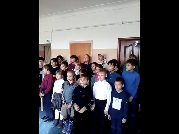 Рождественский концерт в доме престарелых. ч.5
