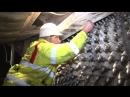 672 алмазных резца на двухметровом фрезерном барабане Wirtgen – чистовое фрезерование бетона