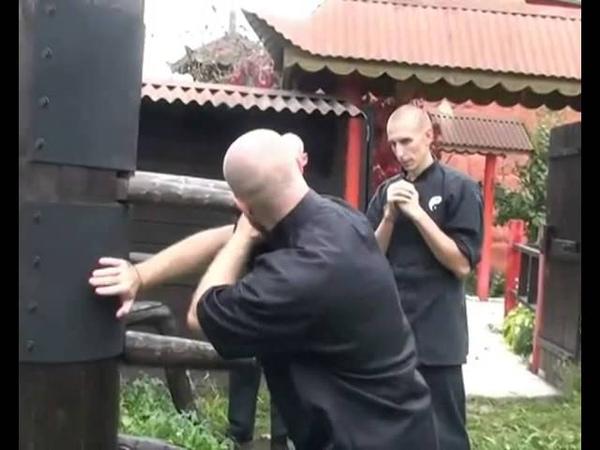 Винь Чун Разрушение защиты липкие руки
