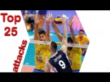 Top 25 best attacks 2018 Volleyball Nations League. Group stage.