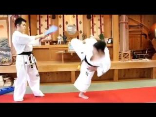 Варианты стремительной атаки в Кёкусинкай карате. Подготовка бойца http://vk.com/oyama_mas