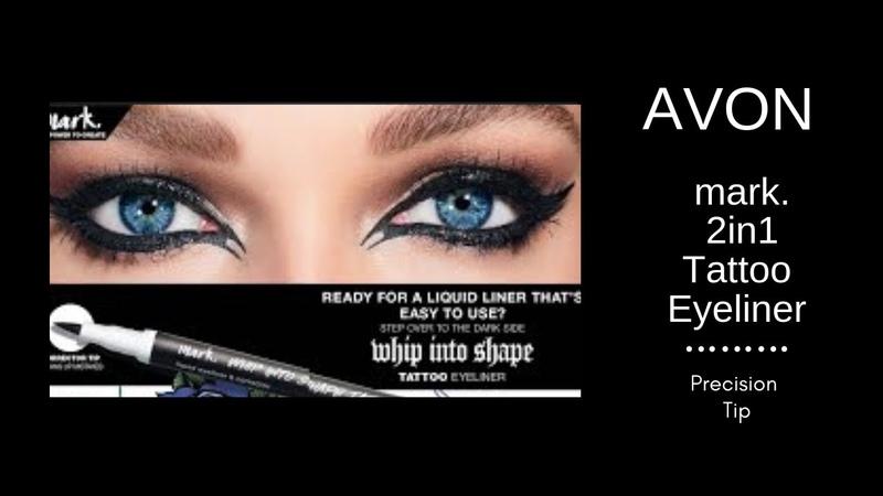 Introducing Avon mark 2 in 1 Tattoo Eyeliner Corrector
