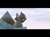 Нашумевшая БЕЛКА за 23 млн тенге ожила в Алматы. Правда, это всего лишь реклама, но выглядит очень круто.