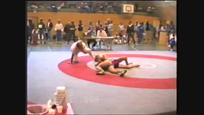 Norwegian wrestling 1988