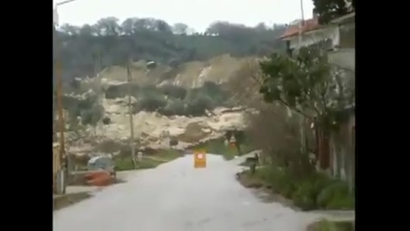 In Italy experienced the moving of earth crust due to high difference in pressure temerature under.mp4