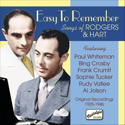 Frank Black альбом Rodgers, Richard: Easy To Remember - Songs of Richard Rodgers and Lorenz Hart (1925-1946)