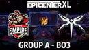 Empire vs Mineski Bo3 Группа A 5 й день EpicenterXL Mael Jam Аналитика