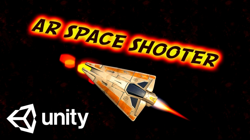 AR Space Shooter 🎯 Augmented Reality for Unity 🎯 AR Shooter 🎯