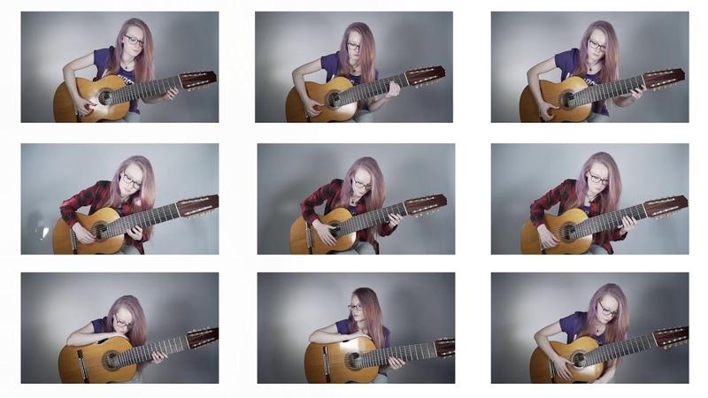 Vivaldi Concerto Grosso in d minor on 9 guitars