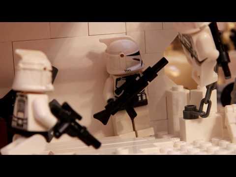 Lego Clone Wars MOC Street battle