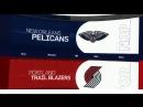 Highlight. Pelicans - Trail Blazers. 18.04.18