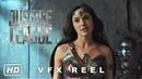 Justice League VFX Reel Deleted Shot of Wonder Woman