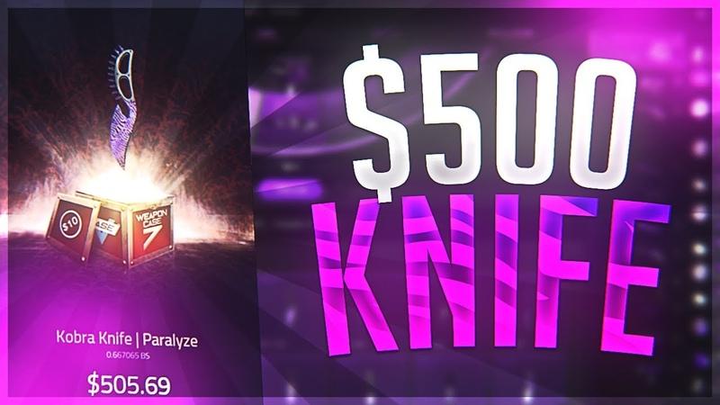 OH MY GOD KNIFE, NEW VGO CASE 7! SKIN.FANS - EPISODE 95