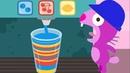 Sago Mini Mascota Café Bebé Aprende Colores Números Partido Formas Juegos para Niños