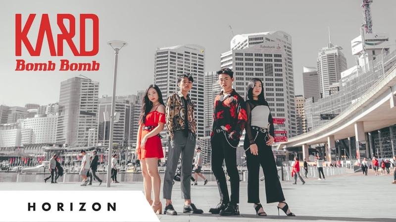 [KPOP IN PUBLIC CHALLENGE] KARD - Bomb Bomb (밤밤) Dance Cover HORIZON Australia
