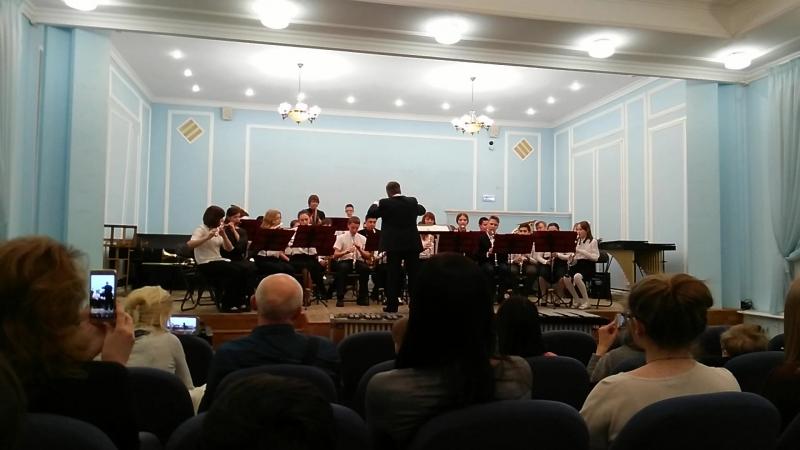 Старший духовой оркестр Музыкальной школы им. С.И. Мамонтова