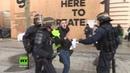 Frankreich: Gelbwesten-Demonstranten stoßen in Paris mit der Polizei zusammen