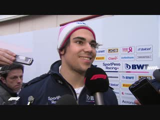 Lance Stroll - Productive day despite DRS issues