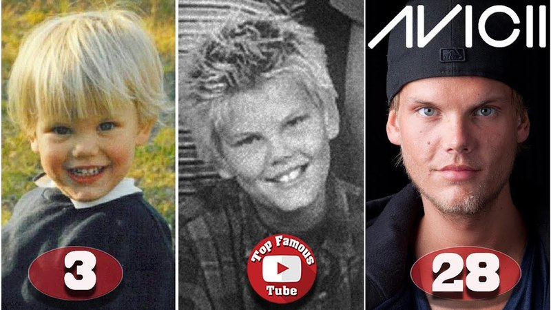Avicii | Tim Bergling | Transformation From 1 To 28 Years Old