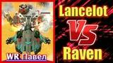 War Robots Lancelot (2 OrkanAncile) VS Raven (2 Storm2 Gust)