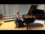 883 J. S. Bach Prelude and Fugue in F-sharp minor, BWV 883 Das Wohltemperierte Klavier 2 N. 14 - Volha Shumskaya