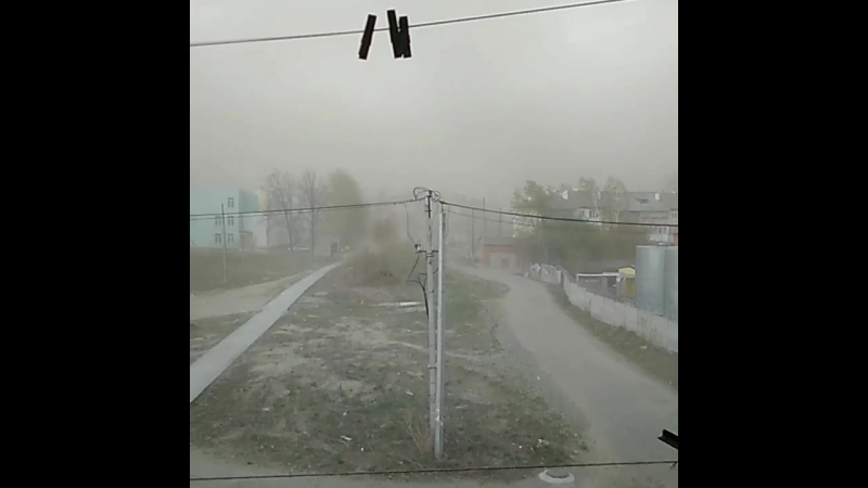 Буря в Арамили 20.05.2018