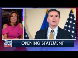 Judge Jeanine Pirro on James Comey