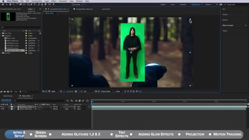 Create Star Wars Hologram After Effects No Plugins 2018