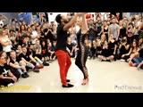 BACHATA FUSION - Ronald y Alba (SPA) Bachata Day Congress 2019 Milan Messiah feat. Elvis Crespo - Salvaje