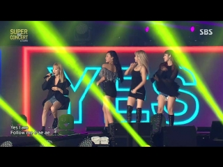 180809 SBS Super Concert in Taipei.Mamamoo - Yes I Am + Nada Sou Sou + Dont Give It To Me + Easy + Selfish