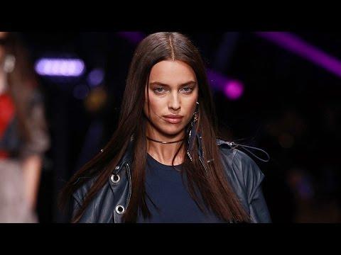 Irina Shayk x Versace I Runway Walk Compilation