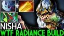 Nisha Monkey King WTF Radiance Build Solo Mid 7 19 Dota 2
