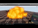 WIP car grounded explosion