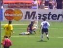 Segundo gol Dumitrescu Rumania elimina a Argentina Mundial 1994 Manolo Da´vila Venevisión
