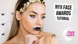 CRAZY BEE MAKEUP TUTORIAL I NYX FACE AWARDS I COCOCHIC