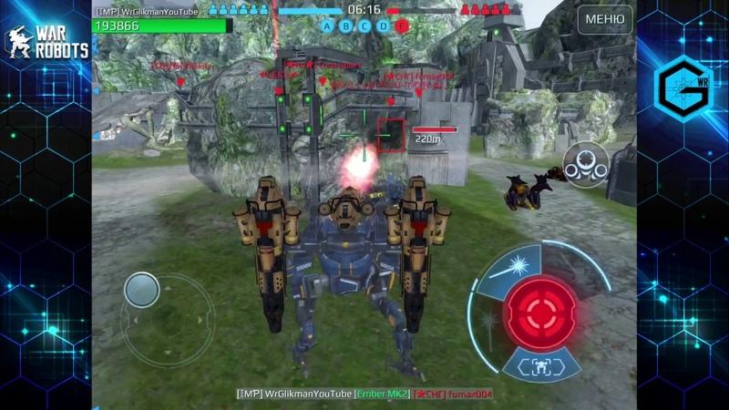 War Robots. Робот Фалькон. Тактический Момент.