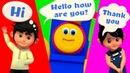 Greeting Song   Learning Street With Bob The Train   Kids Show   Cartoons For Children by Kids Tv
