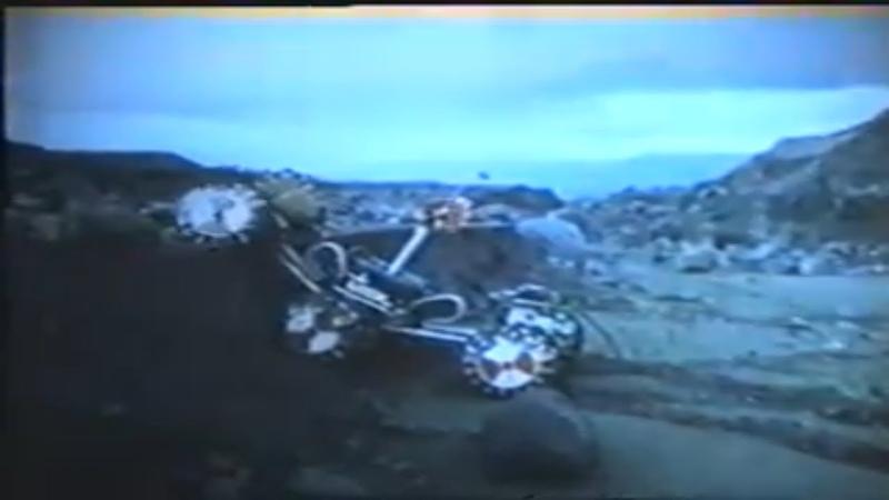 Транспортный робот повышенной проходимости с колесно-шагающим движителем, Марсоходы Трансмаш