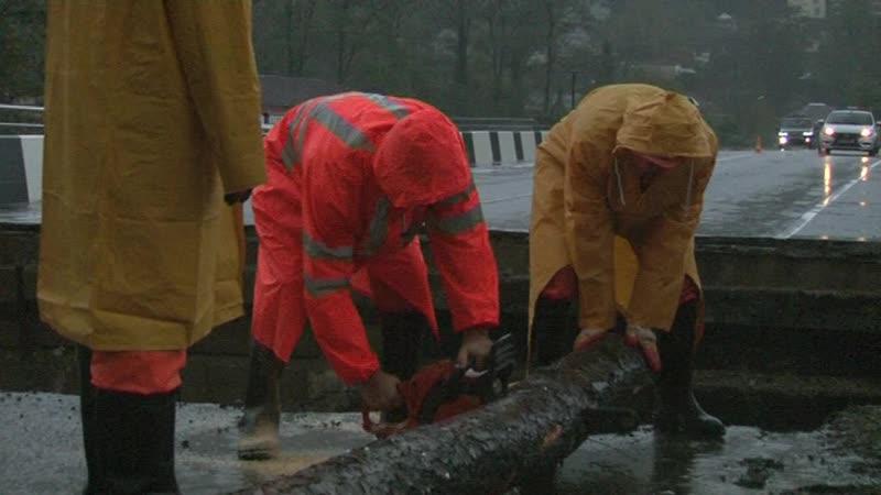 В Туапсинском районе приступили к восстановлению автодорожного моста на трассе регионального значения